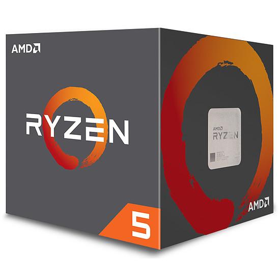 Processeur AMD Ryzen 5 1500X Wraith Spire Edition (3,5 GHz) - Autre vue