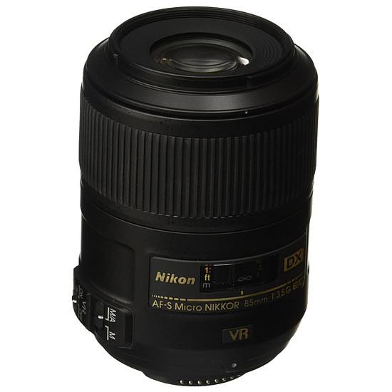 Objectif pour appareil photo Nikon AF-S DX Micro 85mm f/3.5G ED VR