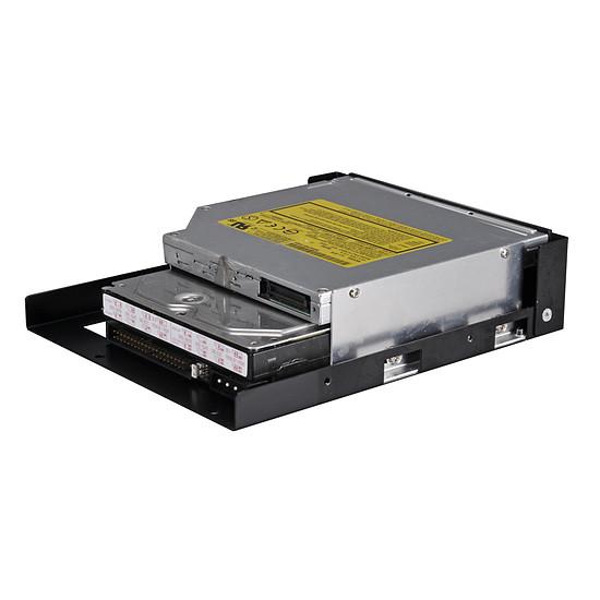 """Rack disque dur interne Lian Li Adaptateur 5,25"""" vers optique Slim, 3,5"""" ou 2,5"""" - Autre vue"""