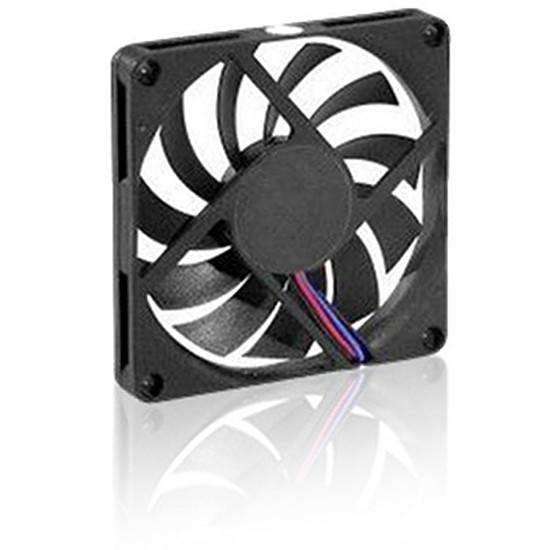 Ventilateur Boîtier  Ventilateur lubrifié à vie - 80 x 80 x 10 mm