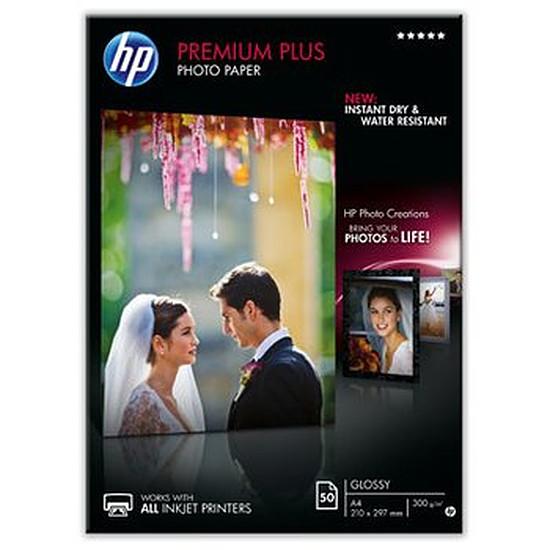Papier imprimante HP Papier Premium Plus brillant A4