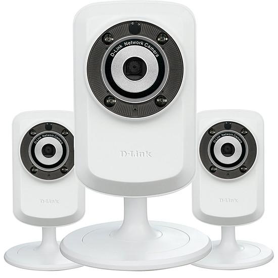 Caméra IP D-Link Pack 3 caméras IP DCS-932L
