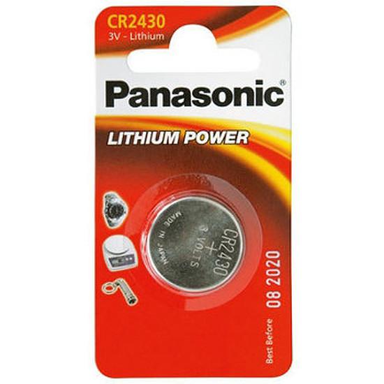 Pile et chargeur Panasonic CR 2430 (x1)