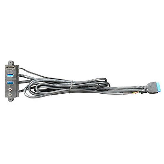 Filtre anti-poussière Lian Li Adaptateur USB 3.0 - PW-IS20AV65AT0