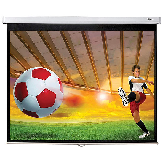 Ecran de projection Optoma Ecran 16/10 241 cm DS-1095PMG+