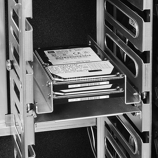"""Rack disque dur interne Lian Li Adaptateur 3,5"""" vers 2 x 2,5"""" (Argent) - Autre vue"""