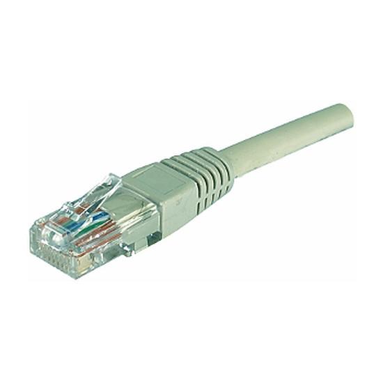 Câble RJ45  Câble Ethernet RJ45 Cat 5e UTP Gris - 0,3 m