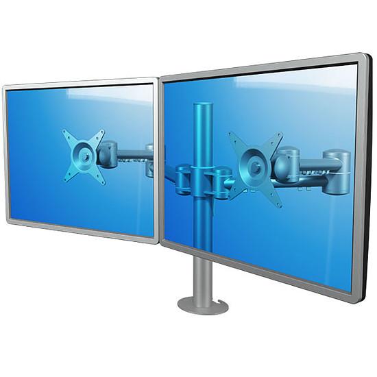 Bras & support écran PC Dataflex Support double écrans - 52.632 - Autre vue
