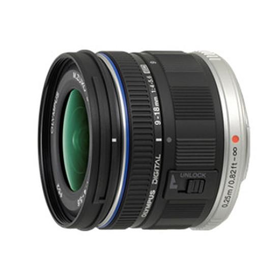 Objectif pour appareil photo Olympus M. Zuiko Digital ED 9-18 mm f/4.0-5.6