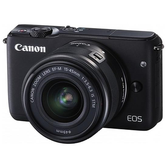 Appareil photo hybride Canon EOS M10 + EF-M 15-45 IS STM Noir