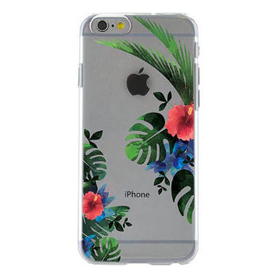 Coque et housse BigBen Connected Coque transparente / fleurs - iPhone 6s/6