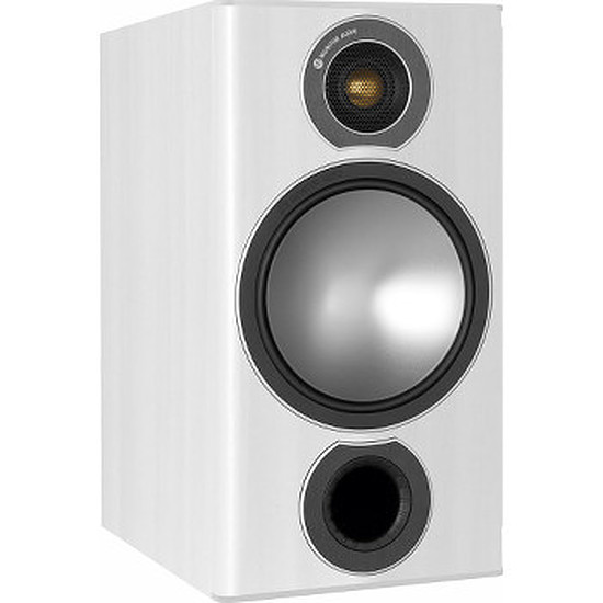 Enceintes HiFi / Home-Cinéma Monitor Audio BRONZE 2 (la paire) - Blanc laqué