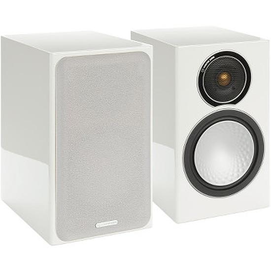 Enceintes HiFi / Home-Cinéma Monitor Audio SILVER 1 Blanc laqué (la paire)