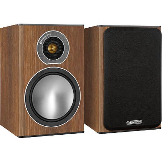 Enceintes HiFi / Home-Cinéma Monitor Audio BRONZE ONE (la paire) - Walnut