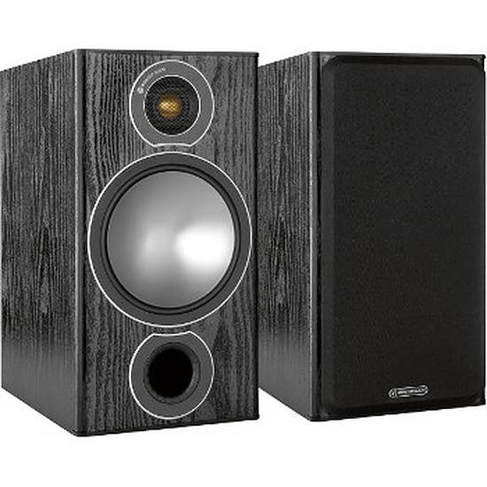 Enceintes HiFi / Home-Cinéma Monitor Audio BRONZE 2 (la paire) - Noir
