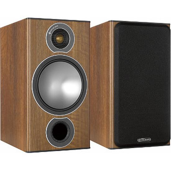 Enceintes HiFi / Home-Cinéma Monitor Audio BRONZE 2 (la paire) - Walnut