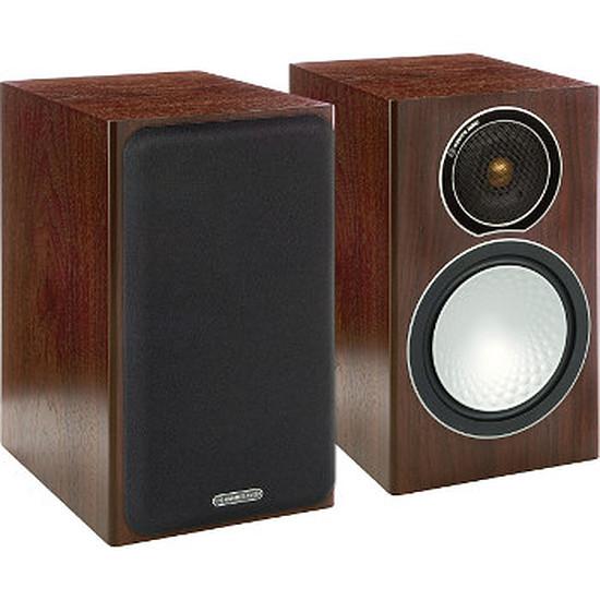 Enceintes HiFi / Home-Cinéma Monitor Audio SILVER 1 Walnut (la paire)