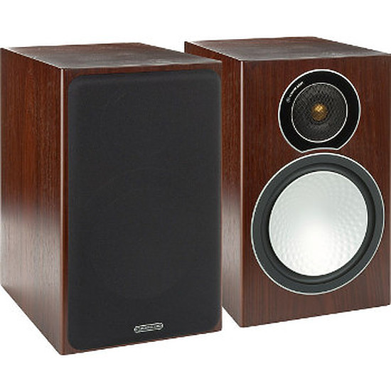 Enceintes HiFi / Home-Cinéma Monitor Audio SILVER 2 Walnut (la paire)