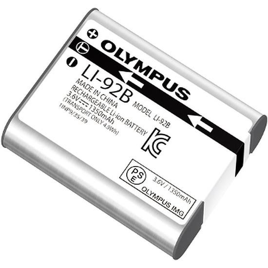 Batterie et chargeur Olympus Batterie Li-92B