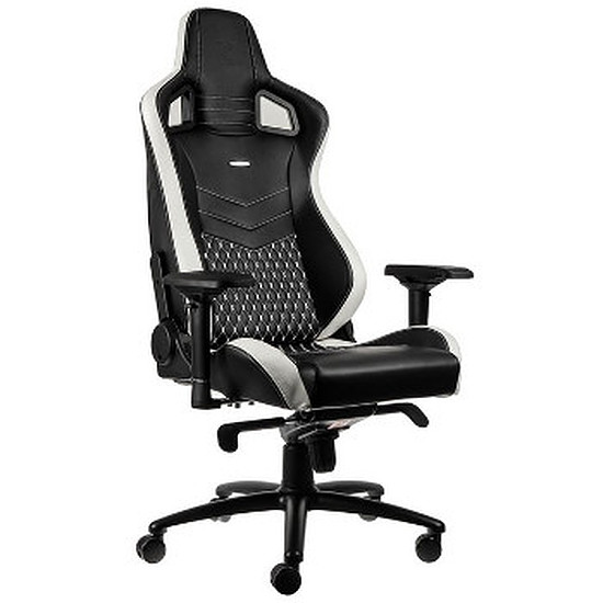 Fauteuil / Siège Gamer Noblechairs EPIC Cuir - Blanc