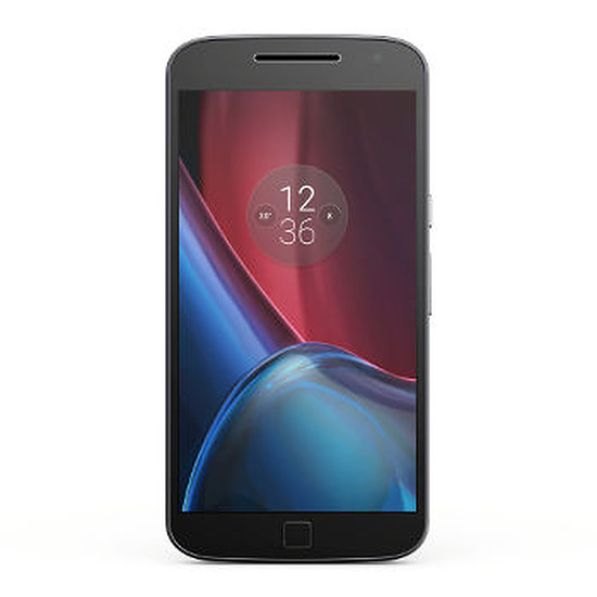 Smartphone et téléphone mobile Lenovo Moto G4 Plus (noir)