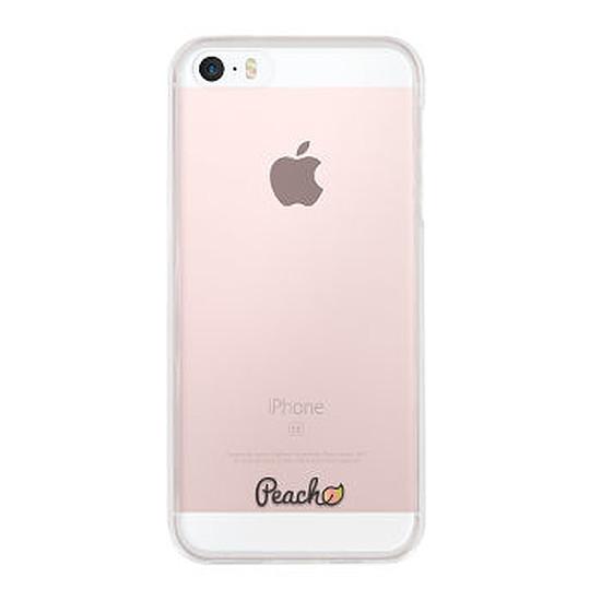 Coque et housse Peach Coque (transparent) - iPhone SE/5s/5