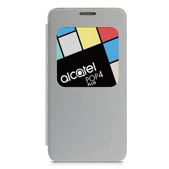 Coque et housse Alcatel Mobile Housse Aero Flipcase (argent) - Alcatel Pop 4 Plus