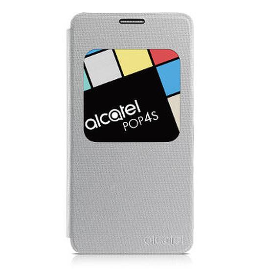 Coque et housse Alcatel Mobile Housse Aero Flipcase (argent) - Alcatel Pop 4s