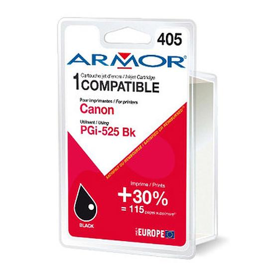 Cartouche imprimante Armor Compatible Canon PGI-525 Noir pigmenté