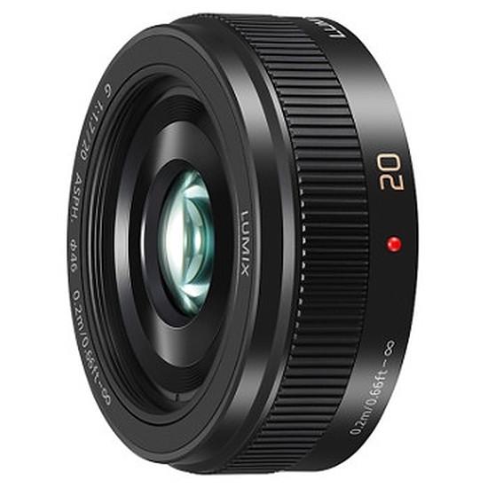 Objectif pour appareil photo Panasonic Lumix G 20mm f/1.7 Noir