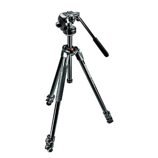Trépied appareil photo Manfrotto Trépied 290 XTRA, alu 3 sections + rotule fluide 2