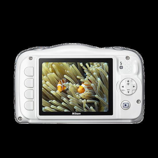 Appareil photo compact ou bridge Nikon Coolpix W100 Blanc + Sac à dos - Autre vue
