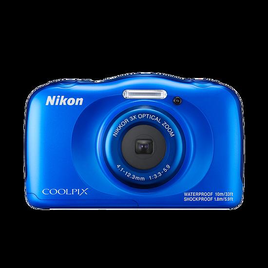 Appareil photo compact ou bridge Nikon Coolpix W100 Bleu + sac à dos - Autre vue