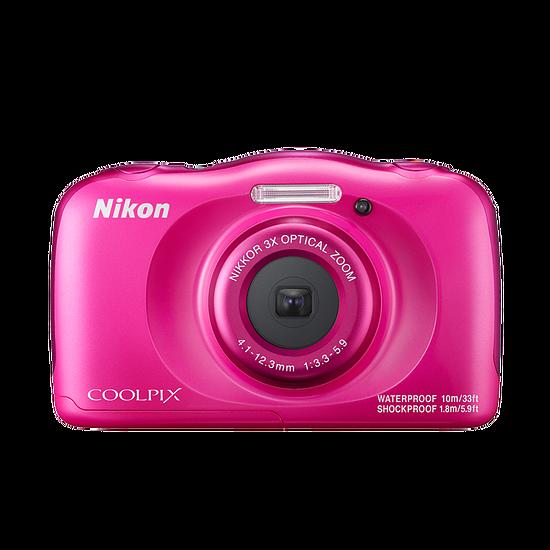 Appareil photo compact ou bridge Nikon Coolpix W100 Rose + Sac à dos - Autre vue