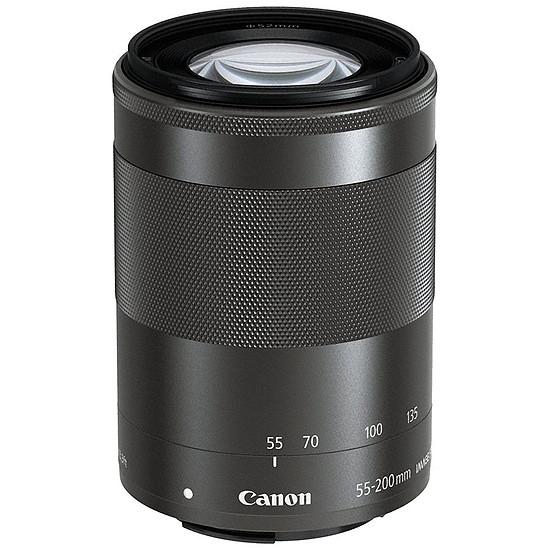 Objectif pour appareil photo Canon EF-M 55-200 mm f/4.5-6.3 IS STM