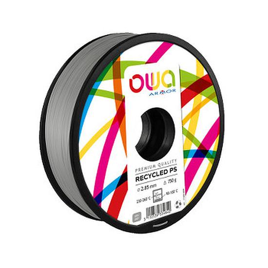 Filament 3D Owa Filament PS recyclé - Gris 2.85 mm
