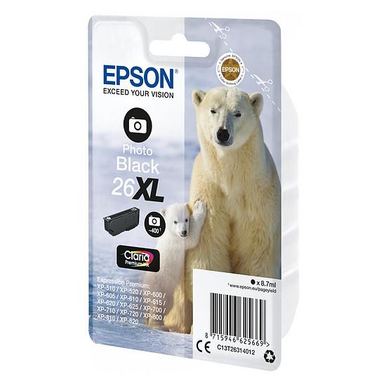 Cartouche imprimante Epson 26XL Noir Photo - Autre vue
