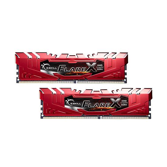 Mémoire G.Skill Flare X Red DDR4 2 x 16 Go 2400 MHz CAS 15 - Autre vue