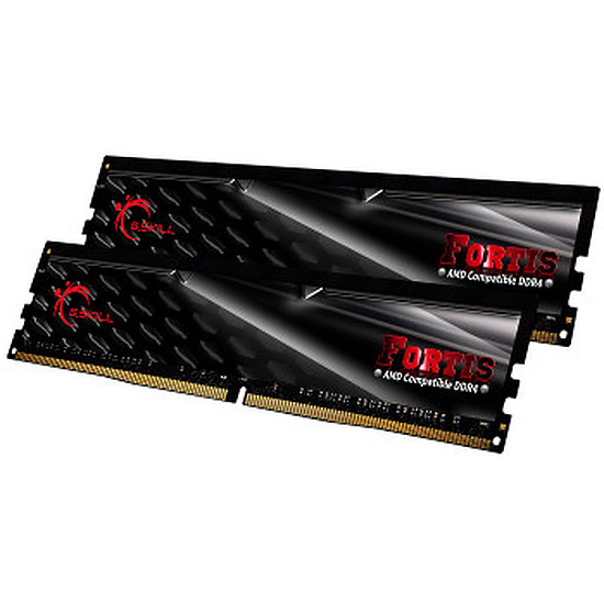 Mémoire G.Skill Fortis DDR4 4 x 8 Go 2400 MHz CAS 15