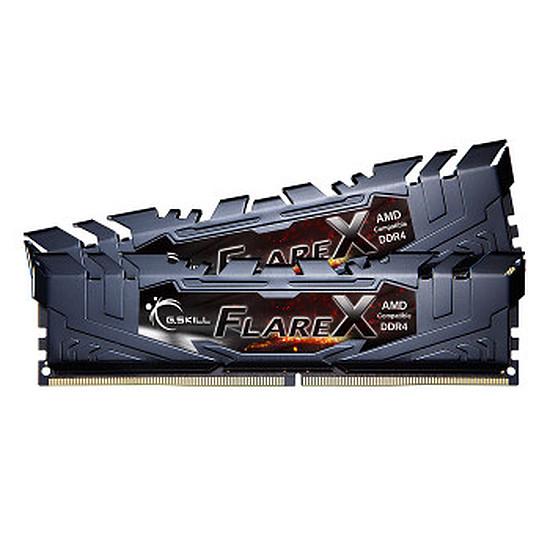 Mémoire G.Skill Flare X Black DDR4 4 x 16 Go 2400 MHz CAS 16
