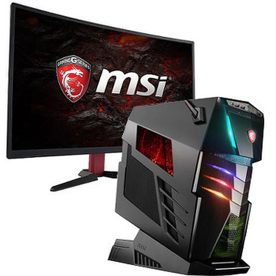 PC de bureau MSI Aegis Ti3 VR7RE SLI-010EU + écran MSI Optix G27C