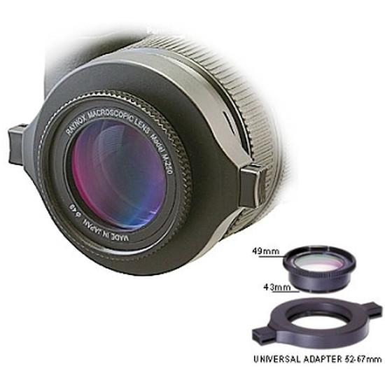 Complément objectif Raynox Convertisseur DCR-250
