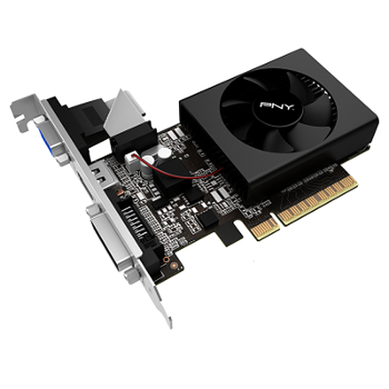 Carte graphique PNY GeForce GT 730 - 1 Go (DDR3)