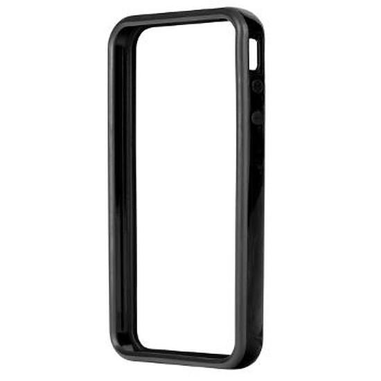 Coque et housse Xqisit Bumper iVest Deluxe (noir) - iPhone 4s/4