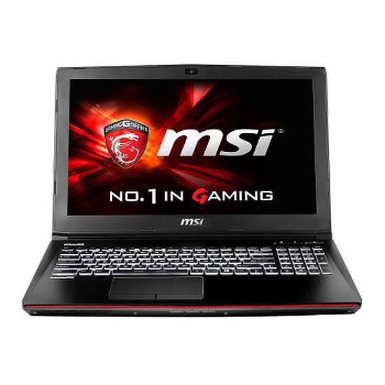 PC portable MSI GE62 2QC-643FR - i5 - 8 Go - 1 To - GTX 960M