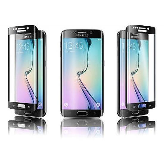 Protection d'écran Qdos Verre trempé curve (noir) -  Galaxy S6 Edge