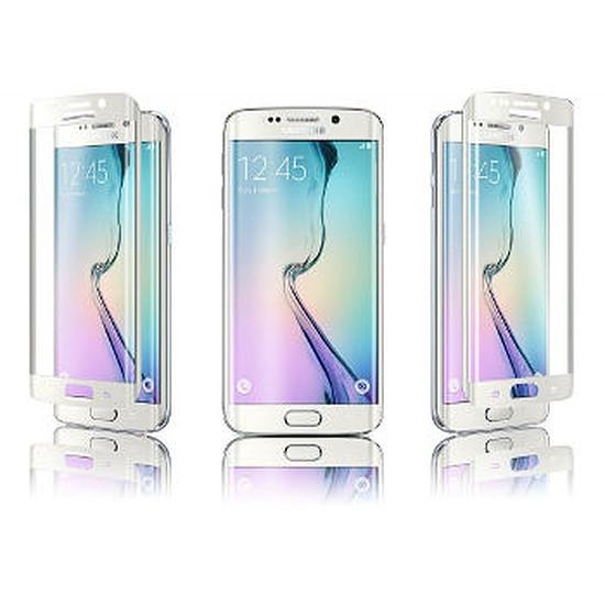 Protection d'écran Qdos Verre trempé curve (blanc) -  Galaxy S6 Edge
