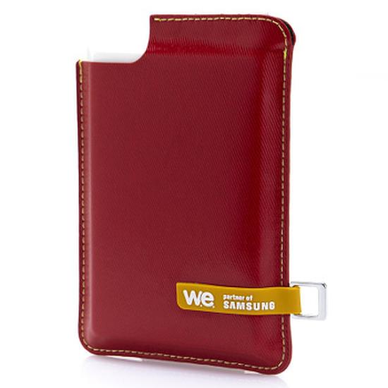 Disque dur externe WE by Samsung - SSD externe 120 Go USB 3.0 - Rouge