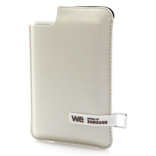 Disque dur externe WE by Samsung - SSD externe 120 Go USB 3.0 - Crème