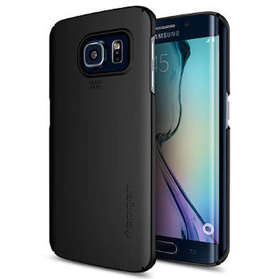Coque et housse Spigen Coque Thin Fit (noir)- Galaxy S6 Edge